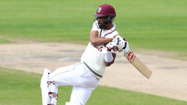 Roston Chase rolls his wrists on a pull