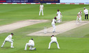 Joe Root takes a low catch in the slips, England v West Indies, 3rd Test, Emirates Old Trafford, 3rd day, July 26, 2020