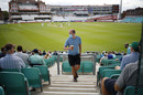 Face masks were on display as spectators returned, Surrey v Middlesex, The Oval, July 26, 2020