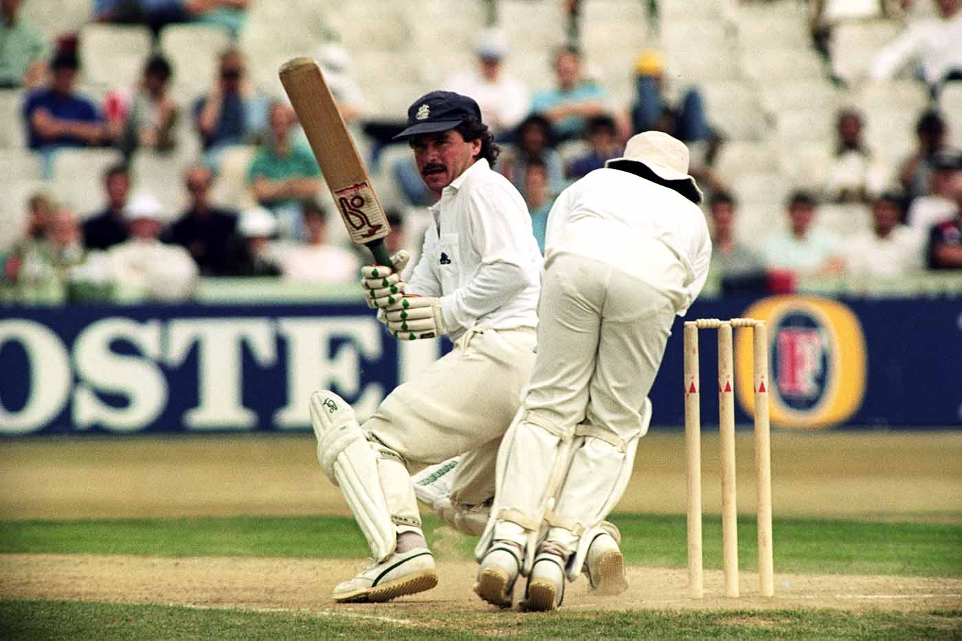 When England needed quick second-innings runs to declare, Allan Lamb was their man - his 141-ball 109 helped them set India a target of 408