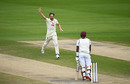 Chris Woakes had Shamarh Brooks caught behind, England v West Indies, Third Test, Day 5, Emirates Old Trafford, July 28, 2020