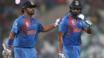 The players enjoy Rohit Sharma's aura, Suresh Raina said