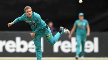 Australia's leading T20 spin bowler Jess Jonassen has been named Brisbane Heat captain
