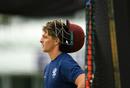 Tom Abell looks on in training, Taunton, June 15, 2020