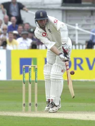 Mike Atherton at his bloody-minded best against South Africa in 1995-96