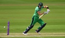 Harry Tector steers into the offside, England v Ireland, 2nd ODI, Southampton, August 1, 2020
