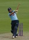 Jonny Bairstow bludgeons a pull shot, England v Ireland, 2nd ODI, Southampton, August 1, 2020
