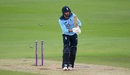 James Vince loses his middle stump, England v Ireland, 2nd ODI, Southampton, August 1, 2020