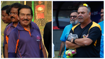 Arun Lal and Dav Whatmore: both 60+ and working in Indian domestic cricket
