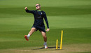 Josh Little bowls in training, England training, Ageas Bowl, August 3, 2020