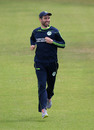 Andy Balbirnie was all smiles in training, Ageas Bowl, August 3, 2020