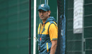 Pakistan's batting coach Younis Khan looks on in training, Pakistan training, Emirates Old Trafford, August 3, 2020