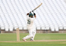 Samit Patel drives on the up, Nottinghamshire v Derbyshire, Trent Bridge, Bob Willis Trophy, August 3, 2020