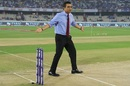 Sanjay Manjrekar before the start of the first T20I between India and West Indies, Hyderabad, December 6, 2019
