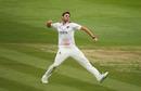 Jamie Overton celebrates a wicket, Somerset v Glamorgan, Taunton, Bob Willis Trophy, August 4, 2020