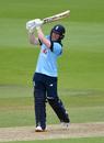 Eoin Morgan swings down the ground, England v Ireland, 3rd ODI, Ageas Bowl, August 4, 2020