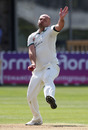 Joe Leach took four wickets in a devastating five-over spell, Gloucestershire v Worcestershire, Bob Willis Trophy, Bristol, August 4, 2020
