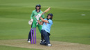 David Willey heaves to leg, England v Ireland, 3rd ODI, Ageas Bowl, August 4, 2020