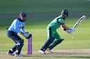 Andy Balbirnie cuts through the off side, England v Ireland, 3rd ODI, Ageas Bowl, August 4, 2020