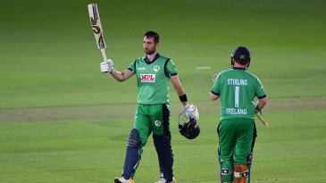 Andy Balbirnie notched up his sixth century in ODIs