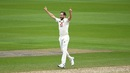 Chris Woakes is thrilled after dismissing Azhar Ali, England v Pakistan, 1st Test, Old Trafford, day 1, August 5, 2020