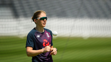 England Women's captain Heather Knight returned to individual training in June