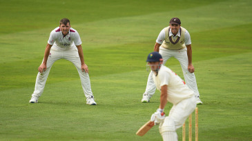 Craig Overton (left) has signed for Somerset after twin Jamie's departure