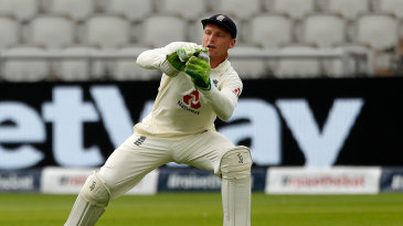 Jos Buttler endured a tough couple of days in the field