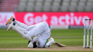 Azhar Ali takes evasive action