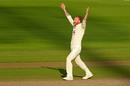 Ben Stokes roars for an lbw, England v Pakistan, 1st Test, Old Trafford, 3rd day, August 7, 2020