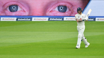 All eyes were on Ben Stokes