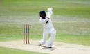 Daniel Bell-Drummond stretches out to drive, Kent v Sussex, Bob Willis Trophy, Canterbury, 2nd day, August 9, 2020