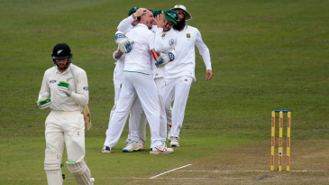 Tom Latham and Martin Guptill were dismissed for golden ducks by Dale Steyn in Centurion in 2016, the latest instance of both openers falling first ball in a Test innings