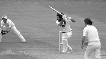 Zaheer Abbas caressed the ball as if afraid he would hurt it