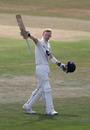 Jordan Cox salutes the Kent balcony, Kent v Sussex, Bob Willis Trophy, Canterbury, 3rd day, August 10, 2020