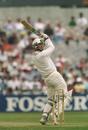 New Zealand's Christchurch hero of '94, Shane Thomson, seen here batting against Surrey the same year