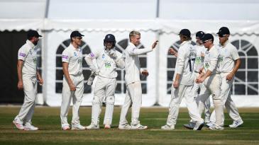 Felix Organ claimed a four-wicket haul