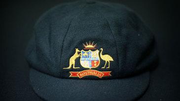 The Australia baggy green