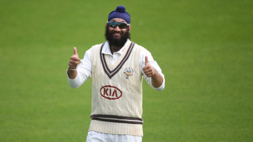 Amar Virdi is among the young English spinners thriving in the Bob Willis Trophy