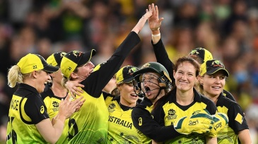 Australia beat India in the T20 World Cup final, the last women's match in over five months