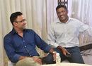 Saba Karim and Abey Kuruvilla at Hindustan Times' MSSA Best School Cricketers 2018 Awards ceremony, Cricket Club of India, Mumbai June 19, 2018