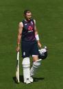 Joe Root walks towards the nets, England training, Ageas Bowl, August 12, 2020