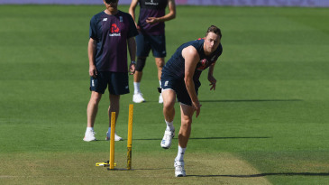 Ollie Robinson is in England's 14-man squad for the second Test