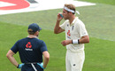 Stuart Broad uses his inhaler, England v Pakistan, Ageas Bowl, 2nd Test, 1st day, August 13, 2020
