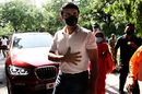 Sourav Ganguly arrives at Belur Math, Kolkata, April 1, 2020