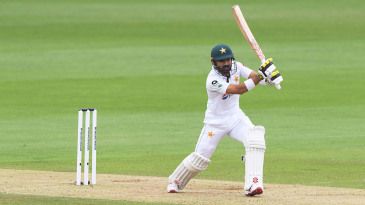 Mohammad Rizwan threads one through extra cover