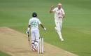 Stuart Broad removed Babar Azam, England v Pakistan, Ageas Bowl, 2nd Test, 2nd day, August 14, 2020