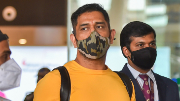 MS Dhoni arrives in Chennai for Chennai Super Kings' preparatory camp ahead of IPL 2020