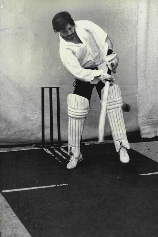 Sydney, January 1978: Chetan Chauhan in the nets
