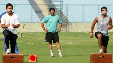 After retiring from the game, Chetan Chauhan stayed connected to it in many ways: here he oversees a Delhi pre-season camp, also featuring a young Virat Kohli